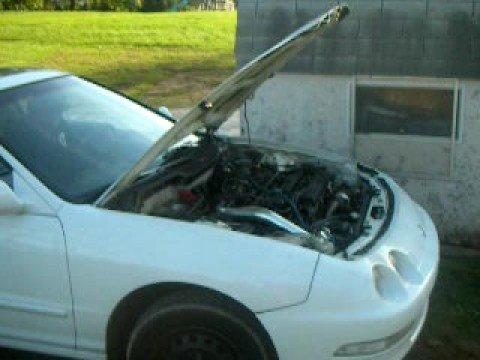 turbo integra blows a rod thru the case