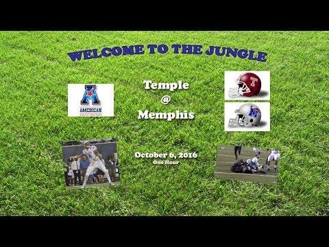 2016 Temple @ Memphis One Hour
