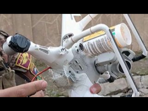 Terror groups using commercial drones in attacks