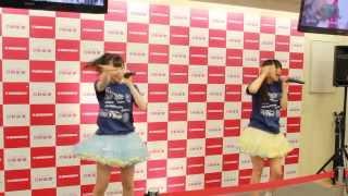 北海道のロコドルWHY@DOLLの新曲発売インストアイベント@新星堂サンシ...