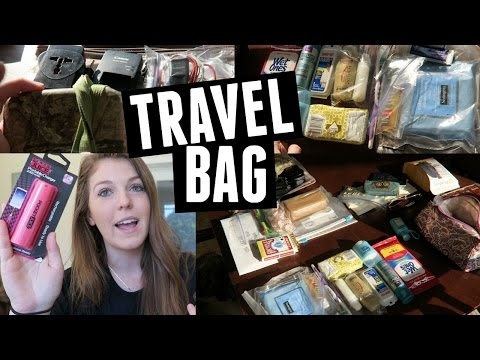 What's in my Travel Bag // Packing for Ireland
