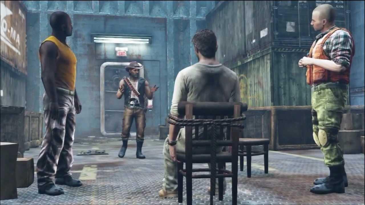 Uncharted 3: Chapter 12- Abducted Pt.1 Walkthrough | Doovi