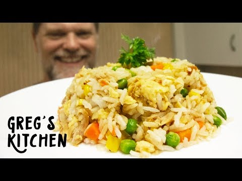 Leftover Chicken Fried Rice - Greg's Kitchen