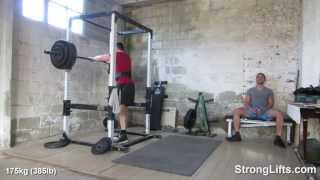 Time to deload on Squats | StrongLifts