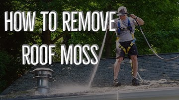 How To Remove Roof Moss  - And Keep It Away