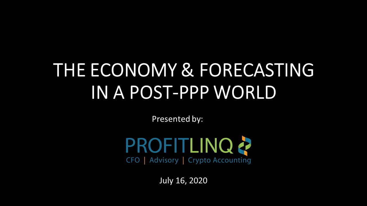 The Economy and Forecasting in a Post-PPP world