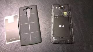 LG V10 Wireless Charging
