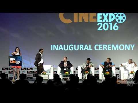 Big Cine Expo 2016 ::: Inaugural Ceremony