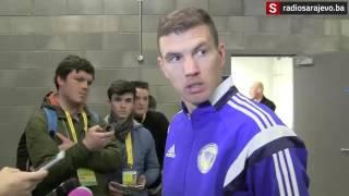 Radiosarajevo.ba: Edin Džeko nakon utakmice s Irskom