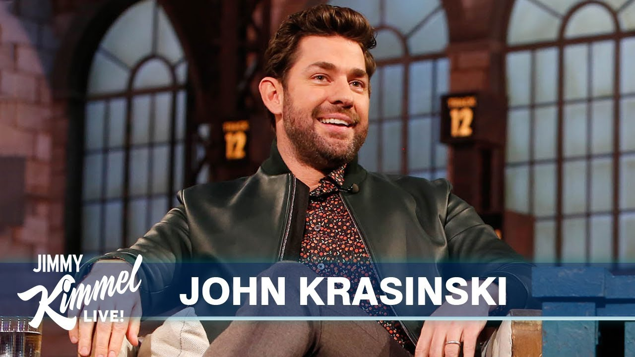 Is John Krasinski a Late-Night Host Now?
