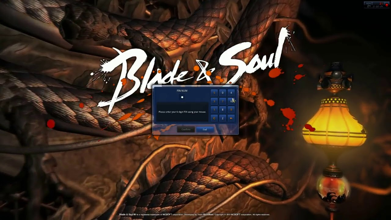 Sửa Lổi Game Blade And Soul: Error A debugger has been found running.