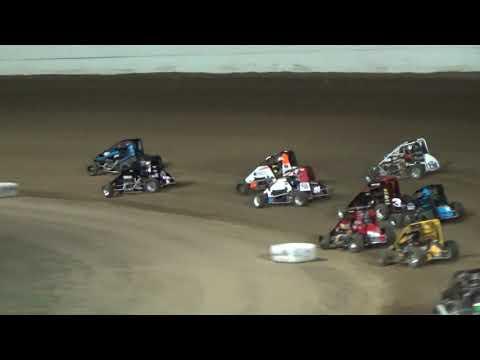 Grays Harbor Raceway, September 2, 2019, Northwest Focus Midget Series A-Main