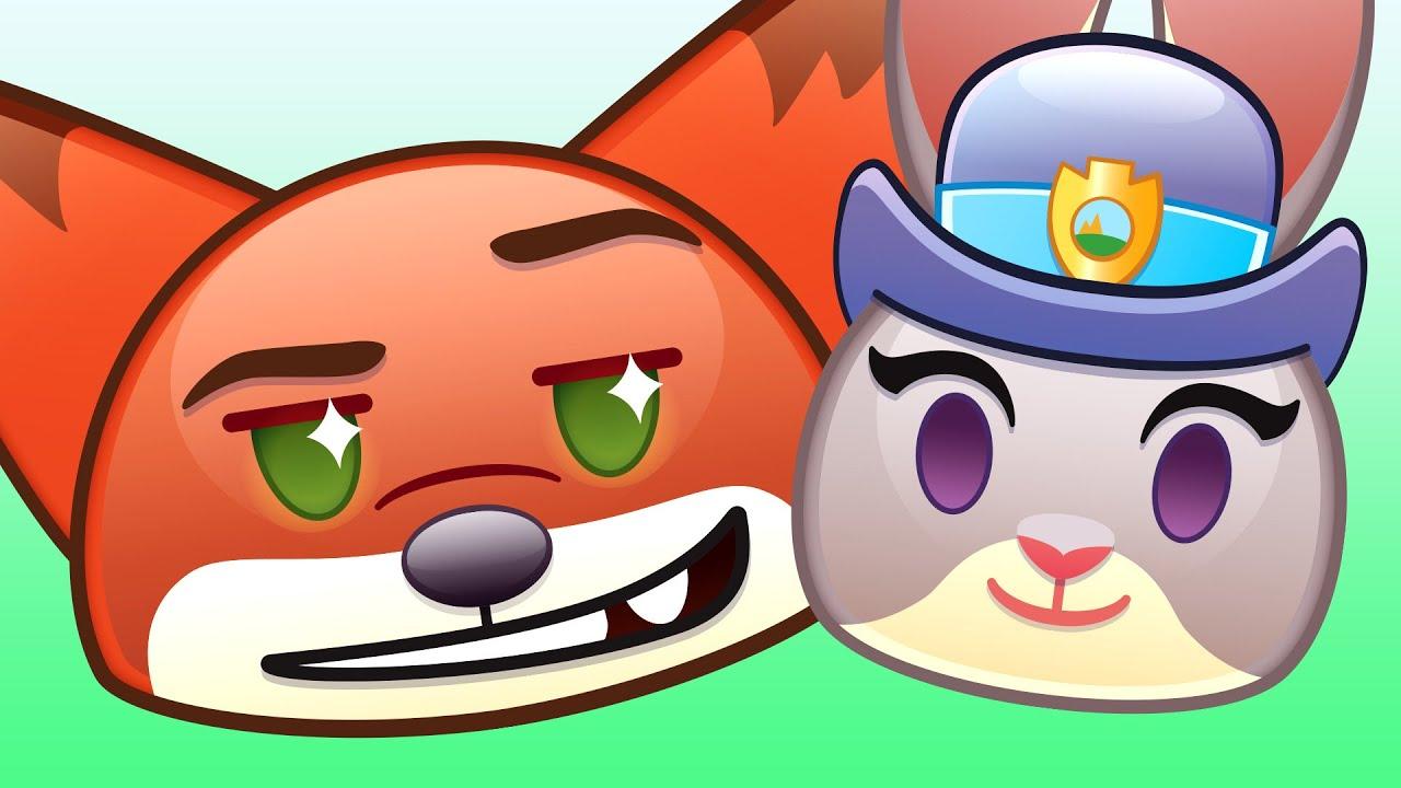 Zootopia As Told By Emoji | Disney - YouTube
