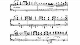 """Ravel - Miroirs No. 4, """"Alborada del Gracioso"""" Sheet Music + Audio"""