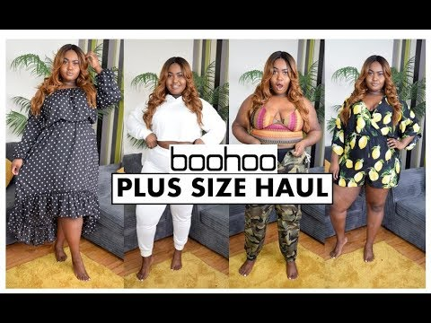 976620fcb56 BOOHOO PLUS SIZE FASHION HAUL - SPRING COLLECTION - YouTube