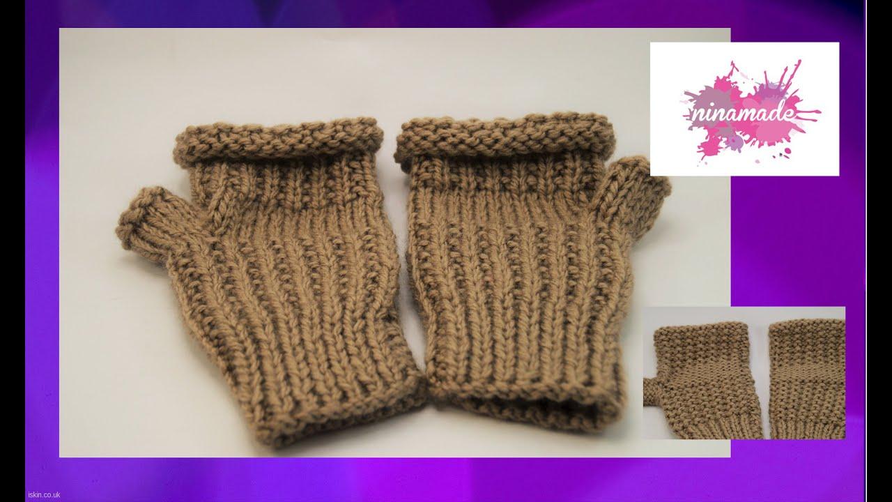 Souvent mitaines en tricot gc14 montrealeast - Comment tricoter des mitaines avec doigts ...