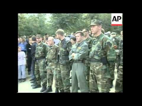 Arrest of ethnic Albanian rebel commander Rrustem Mustafa