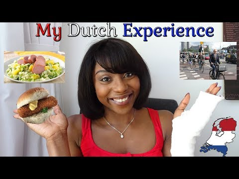 MY EXPERIENCE OF THE NETHERLANDS - JANE GOING DUTCH