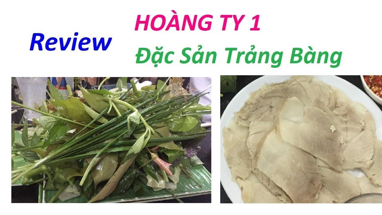 Food Review: Hoàng Ty 1 – Đặc Sản Trảng Bàng