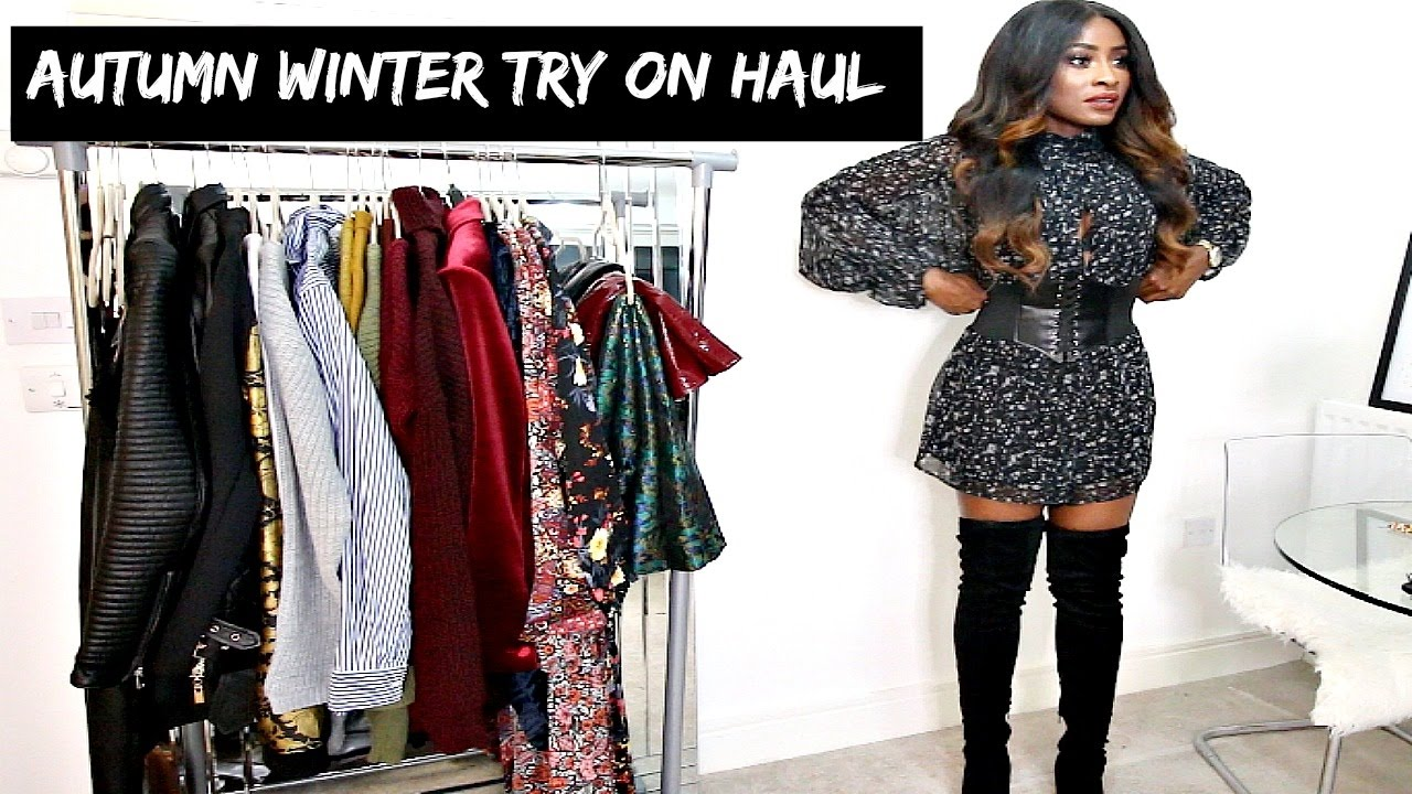 8ae50890566 AUTUMN  WINTER TRENDS TRY ON HAUL
