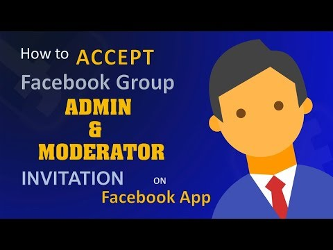 How To ACCEPT Facebook Group Invitation For Admin, Moderator, Editor On Android App | PoinTECH