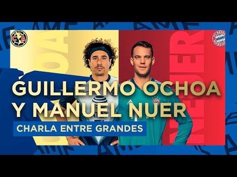 Guillermo Ochoa y Manuel Neuer charla entre grandes