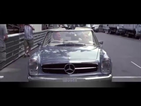 Palm Beach Classics - A day in Monaco with a vintage Mercedes 280SL