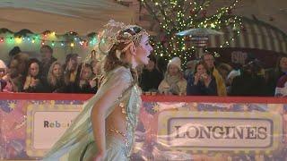 На Красной площади ледовым шоу с участием олимпийских чемпионов открылся традиционный каток.