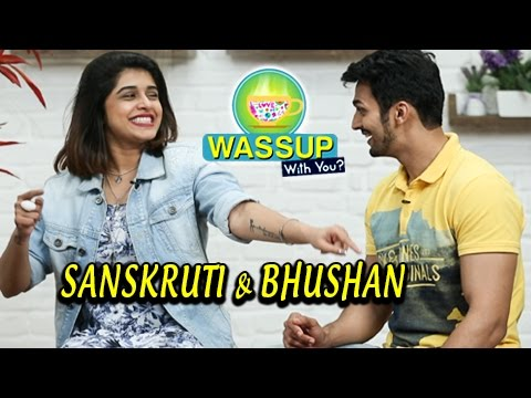 WassUp With You | Episode 1 | Sanskruti Balgude & Bhushan Pradhan | Gossip, Love, FU & Marathi Movie