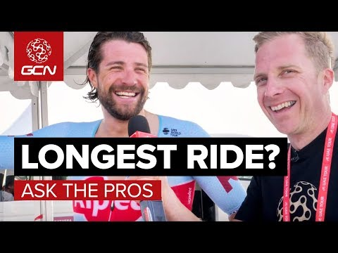 What's Your Longest Ride? GCN Asks The Pros At The UAE Tour