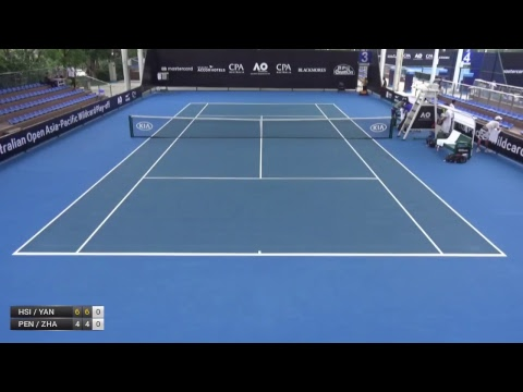 Australian Open 2018 Asia-Pacific Wildcard Play-off | Court 3  | Day 1