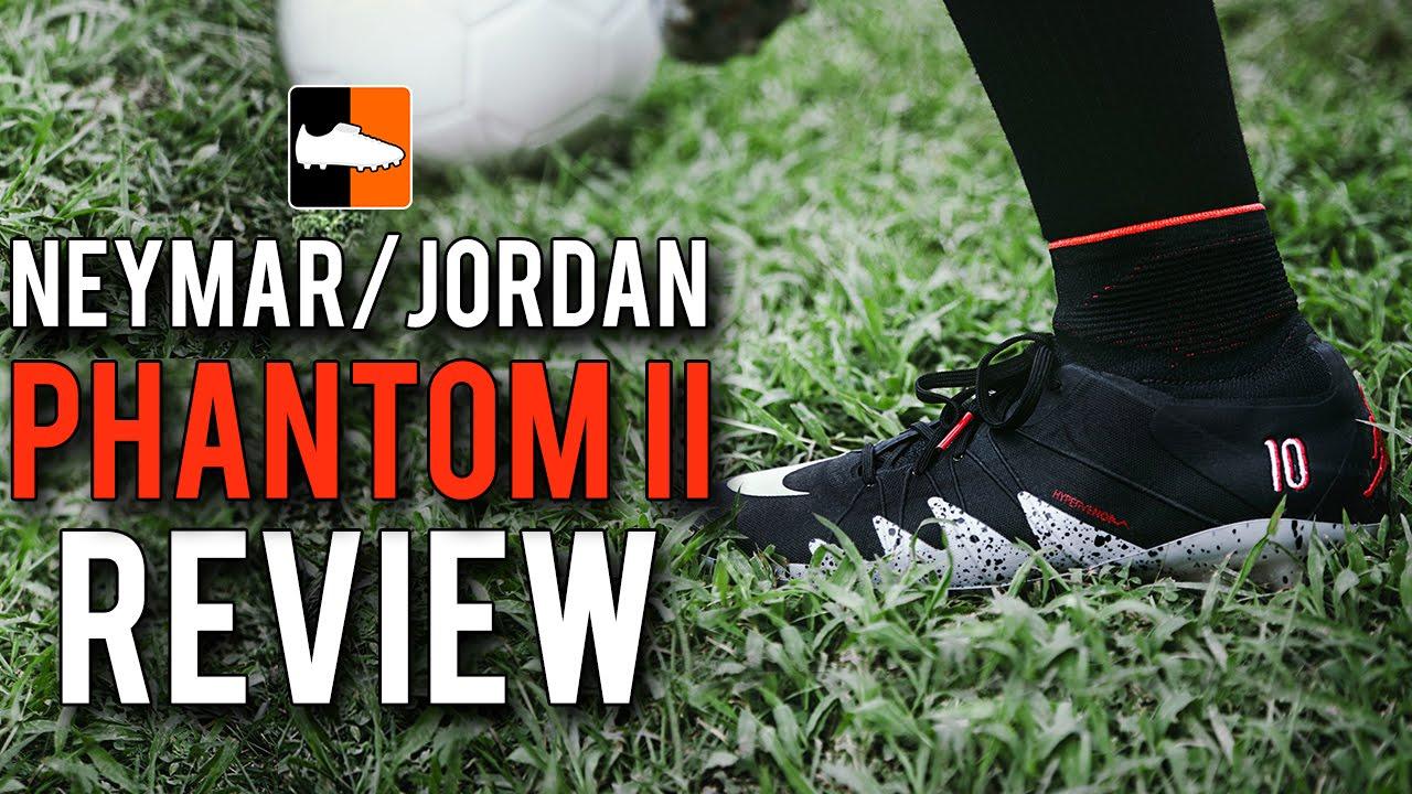 3aba662582d Neymar Njr x Jordan Phantom 2 Review   Unboxing Nike Hypervenom LE Football  Boots