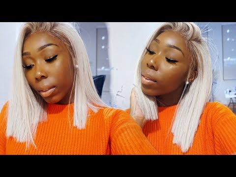 How To: Get Icy White Hair | Platinum Blonde For Black Girls! Her Hair Company