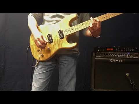 Atomic Punk Van Halen The Brown sound with $300 amp