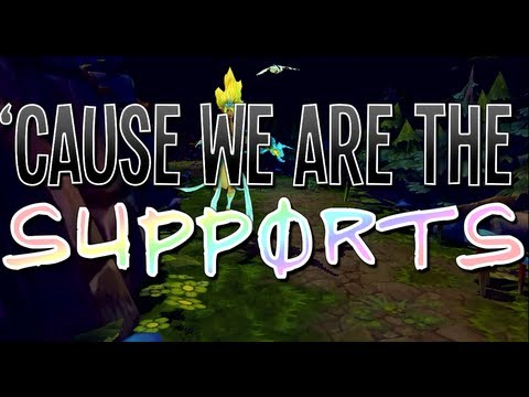 Instalok - We Are The Supports (Lady Gaga - Applause PARODY)
