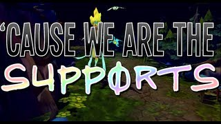 Repeat youtube video Instalok - We Are The Supports (Lady Gaga - Applause PARODY)