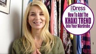 How To Wear Khaki
