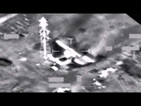 RAF jet fighters bomb Gaddafi's communication network in Libya