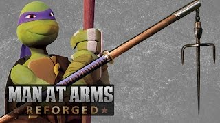 Repeat youtube video All TMNT Weapons Combined into One - MAN AT ARMS: REFORGED