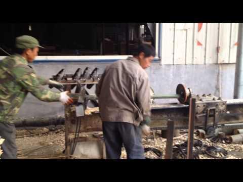 GBT012 BAMBOO POLE SPLITTING MACHINE