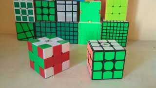 15 узоров на кубике 3х3
