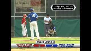 Pine Bluff vs White Hall 11-12 year old All Stars Resumed Game