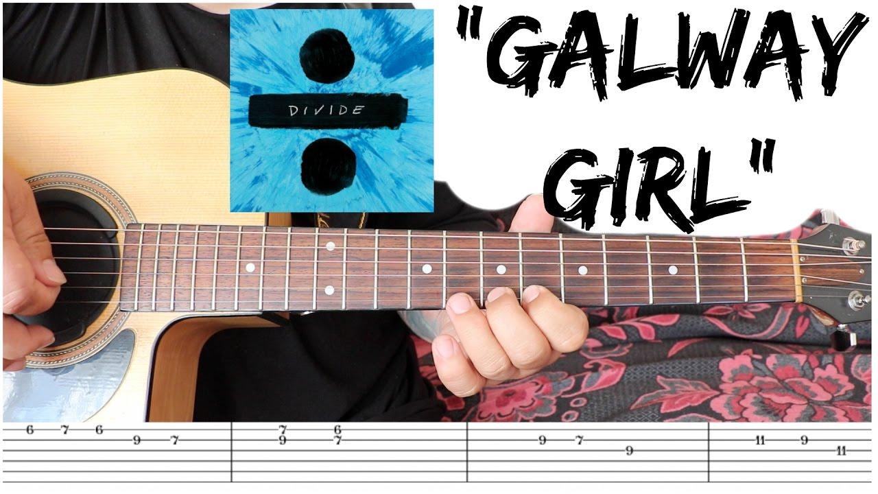 Galway girl ed sheeran guitar tutorial youtube galway girl ed sheeran guitar tutorial hexwebz Images