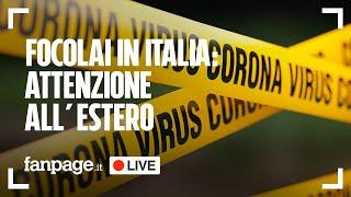 Coronavirus, focolai Italia e le notizie di oggi