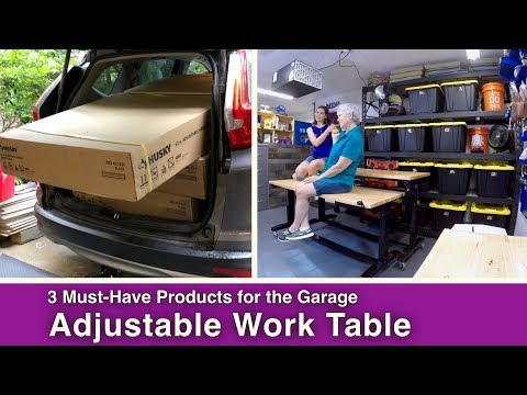 3 Must-Have Storage and Work Products for the Garage!