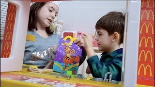 McDonald's Drive Thru Kitchen Toy Playset Pretend Play