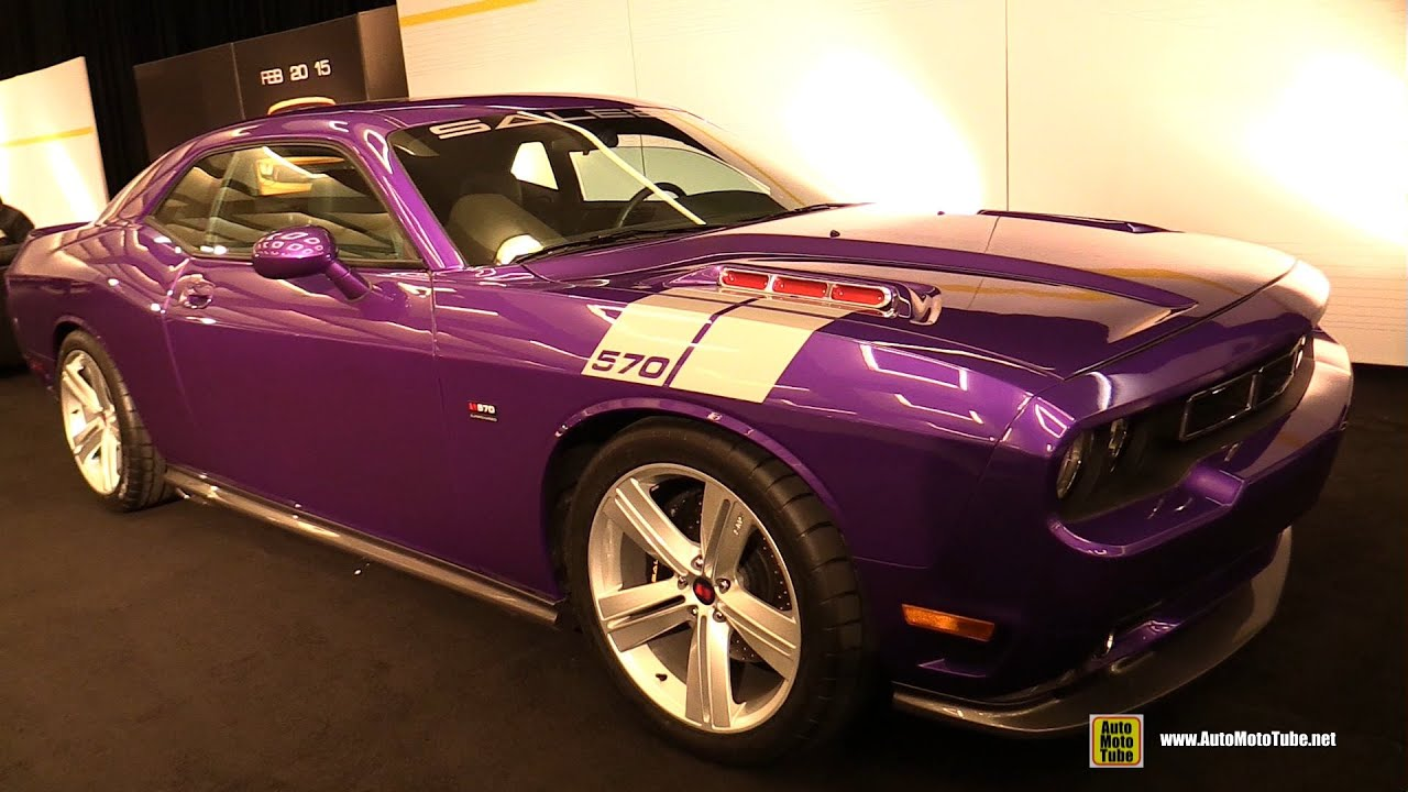 Dodge Challenger Interior >> 2015 Dodge Challenger Saleen 570 - Exterior and Interior Walkaround - 2014 LA Auto Show - YouTube