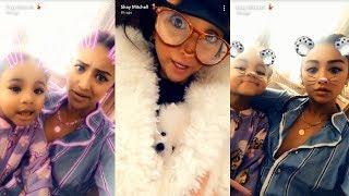 Shay Mitchell   Snapchat Story   12 December 2017