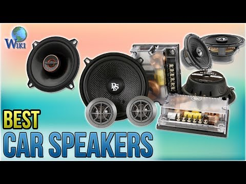 10 Best Car Speakers 2018