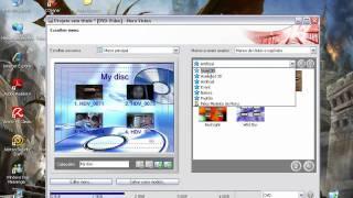 Como Criar Menu de DVD no Nero - www.gcshardware.com.br